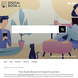 Free Audio Books for English Learners