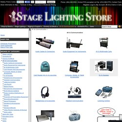 Audio-Video & Communication Catalog