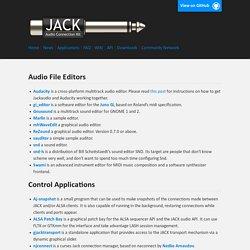 JACK Audio Connection Kit