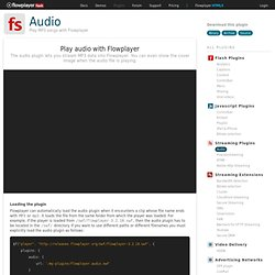 Flash Video Player for the Web