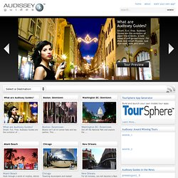 Audio Tour | Audio Guide | iPod Tour – Audissey Guides