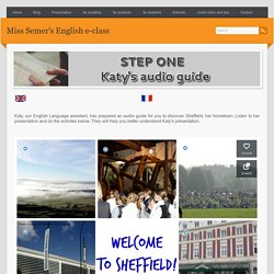 Step one Katy's audio guide tour - Miss Semer's English e-class