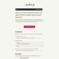 audio.js