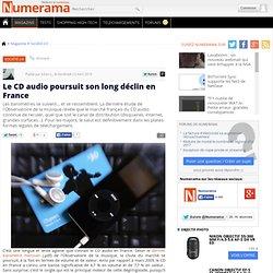 Le CD audio poursuit son long déclin en France - Numerama