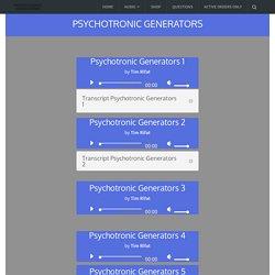 PG Audio – Psychotronic Generators