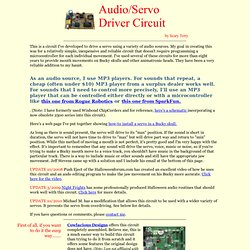 audio-servo