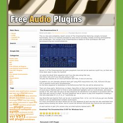 Free dx, vst, audio units, rtas plugins and effects