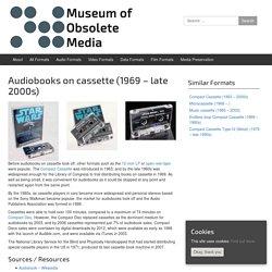 Audiobooks on cassette (1969 – late 2000s)