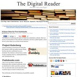 A Dozen Sites for Free Audiobooks