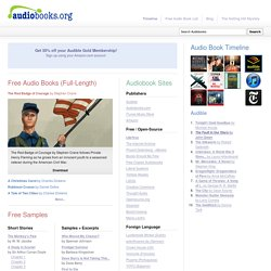 Audiobooks.org - Free Audiobooks, audio books, MP3 Books