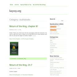 Audiobooks — kayray.org