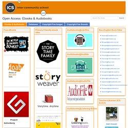Ebooks & Audiobooks - Open Access - LibGuides at ICS Inter-Community School Zurich