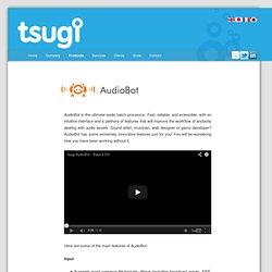 AudioBot