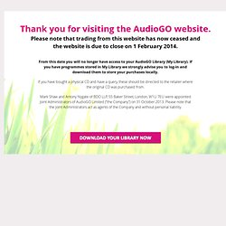 Audio Books & Stories to download, Radio Archives, Books On CD | AudioGO
