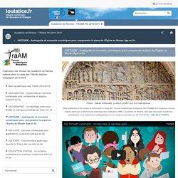 Audioguide et moments numériques pour comprendre la place de l'Église au Moyen Âge en 5e