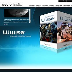 Audiokinetic | Home