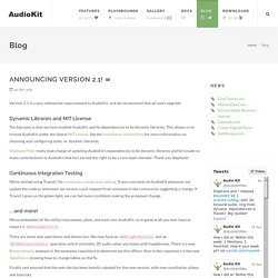 AudioKit Blog