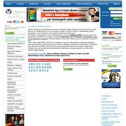 il Narratore audiolibri - Archivio audio gratuito