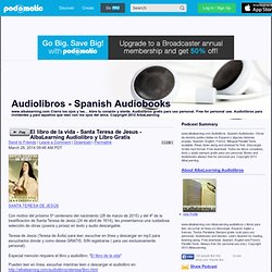 PodOmatic | Podcast - Audiolibros - Spanish Audiobooks