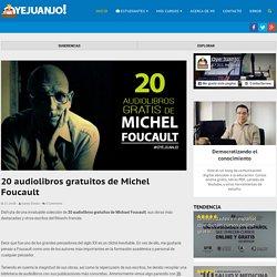 20 audiolibros gratuitos de Michel Foucault