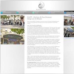 AUDIONAUTE - Actualité - Station de Bus Expérimentale EBSF - RATP