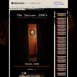 Audiophile Tube Amps and Tube Gear from DECWARE