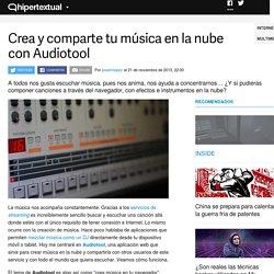 Audiotool te ayuda a crear música en la nube sin salir del navegador