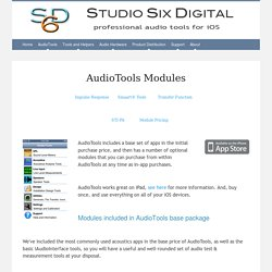 AudioTools Modules
