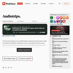 Audiotrips : cartes postales sonores