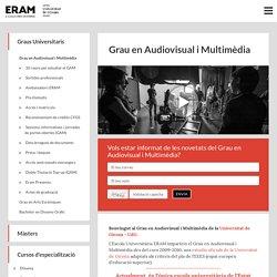 Grau en Audiovisual i Multimèdia