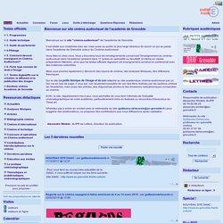 site cinéma audiovisuel ac Grenoble