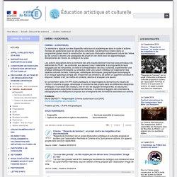 Cinéma - Audiovisuel - Éducation artistique et culturelle