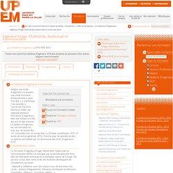 Ingénieur Image, Multimédia, Audiovisuel et Communication