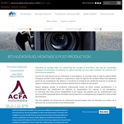 BTS audiovisuel montage & post-production JPO non communiquées