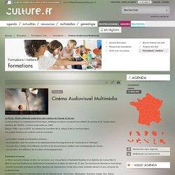 Cinéma Audiovisuel Multimédia / Formations / Formations / métiers / Éducation