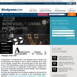 Audiovisuel - Cinéma - Photographie