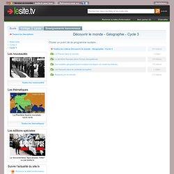tv : ressources audiovisuelles, vidéos pédagogiques libres de droits