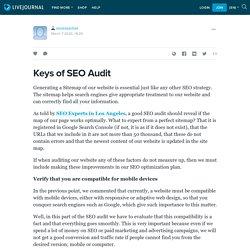 Keys of SEO Audit: seoexpertsla — LiveJournal