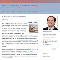 Furth and Fortune blog by Will Murray (Willscrlt)