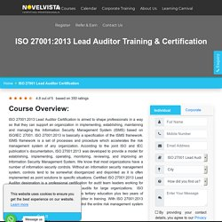 ISO Lead Auditor Course