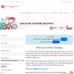 IRCA Online ISO Auditor Course