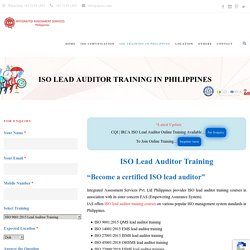 Lead Auditor Course Philippines