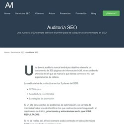 Auditoría SEO - Arturo Marimón