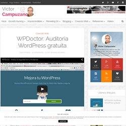 WPDoctor: Auditoría Wordpress gratuita