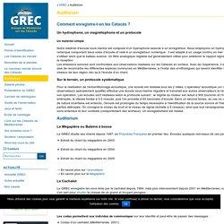 Auditorium - Le GREC