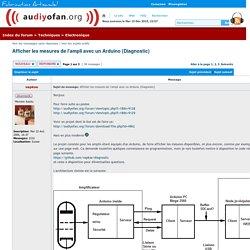Afficher le sujet - Afficher les mesures de l'ampli avec un Arduino (Diagnostic)