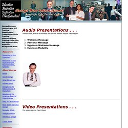 Audo-Video Presentations
