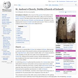 St. Audoen's Church, Dublin (Church of Ireland)