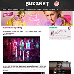 Audrey Kitching's Blog - Buzznet