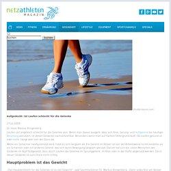 Aufgedeckt: Ist Laufen schlecht für die Gelenke - netzathleten.de